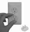 Child Safety Outlet Plugs/Caps/Covers 10-Pack